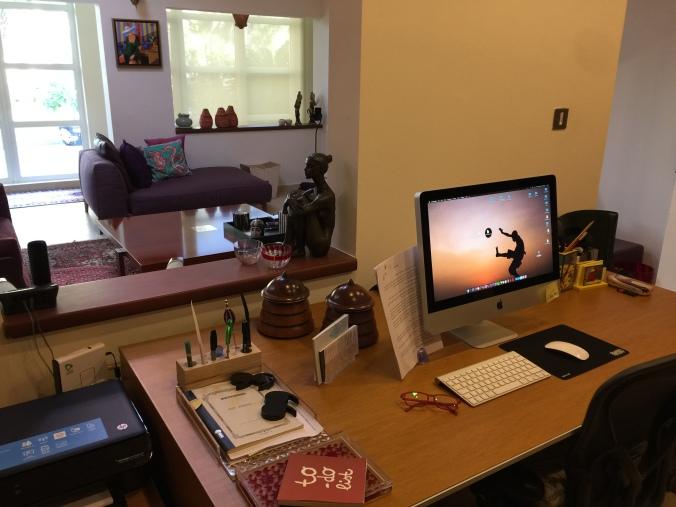 Maha's Desk